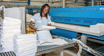 St-lucia-Linen-Commercial-Laundering-Folding
